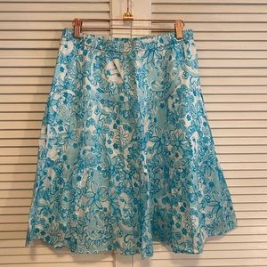 Vintage Lilly Pulitzer Golden Lion Girls 10 Skirt.